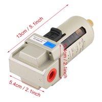 Greensen 1 pcs AF3000-03 G3/8'' Compressed Air Compressor In Line Moisture Water Filter