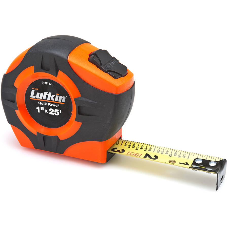"Lufkin PQR1425 1"" x 25' Tape Measure"
