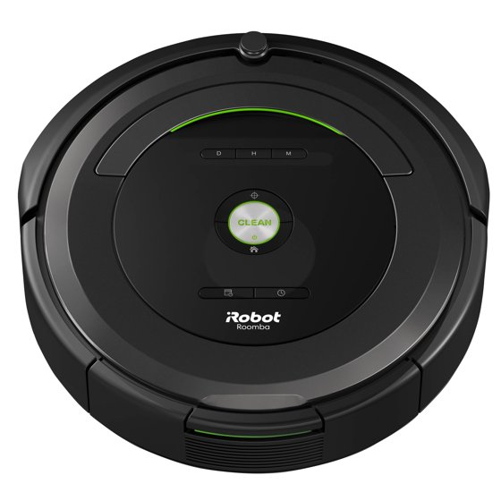 irobot roomba 680 robot vacuum with manufacturer 39 s warranty. Black Bedroom Furniture Sets. Home Design Ideas