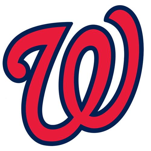 Washington Nationals Fathead Logo Giant Removable Decal - No Size