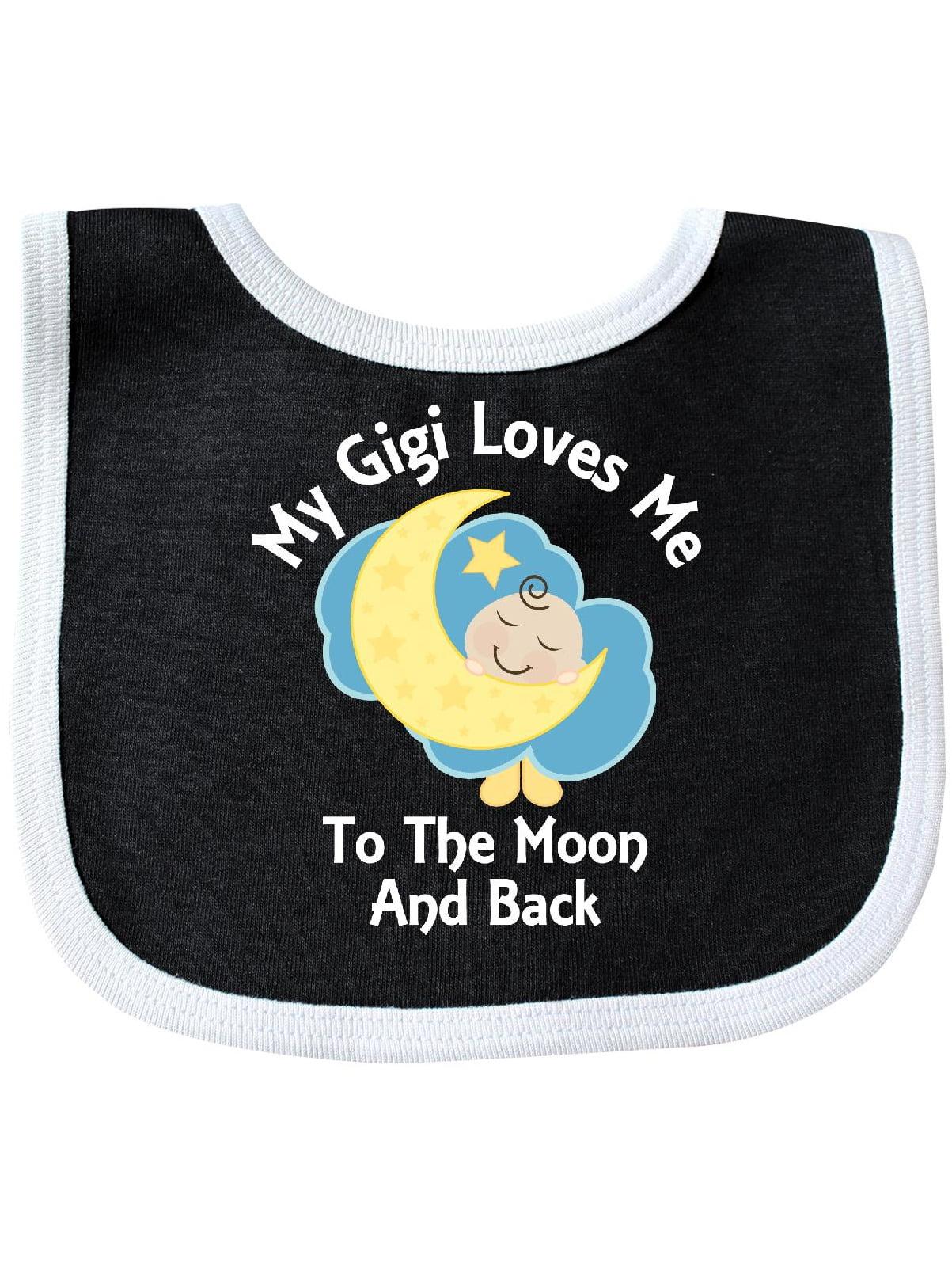 I love my Nanna to the Moon and Back cute Baby Bib