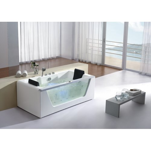 EAGO 71'' x 35'' Whirlpool Bathtub