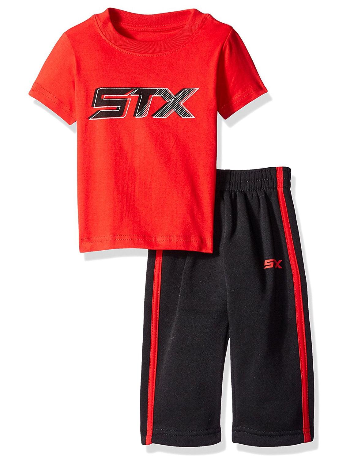 Active Performance T-Shirt and Fleece Pant, 2-Piece Set (Little Boys)