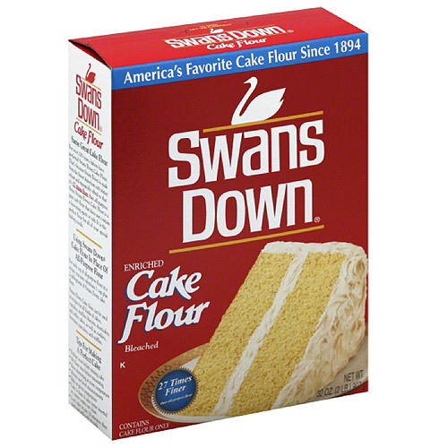 Swans Down Enriched Cake Flour, 32 oz, (Pack of 8)