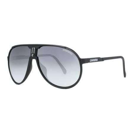 43ce299003 Carrera - Champion L S DL5 JJ Black Grey Gradient Unisex Aviator Sunglasses  - Walmart.com
