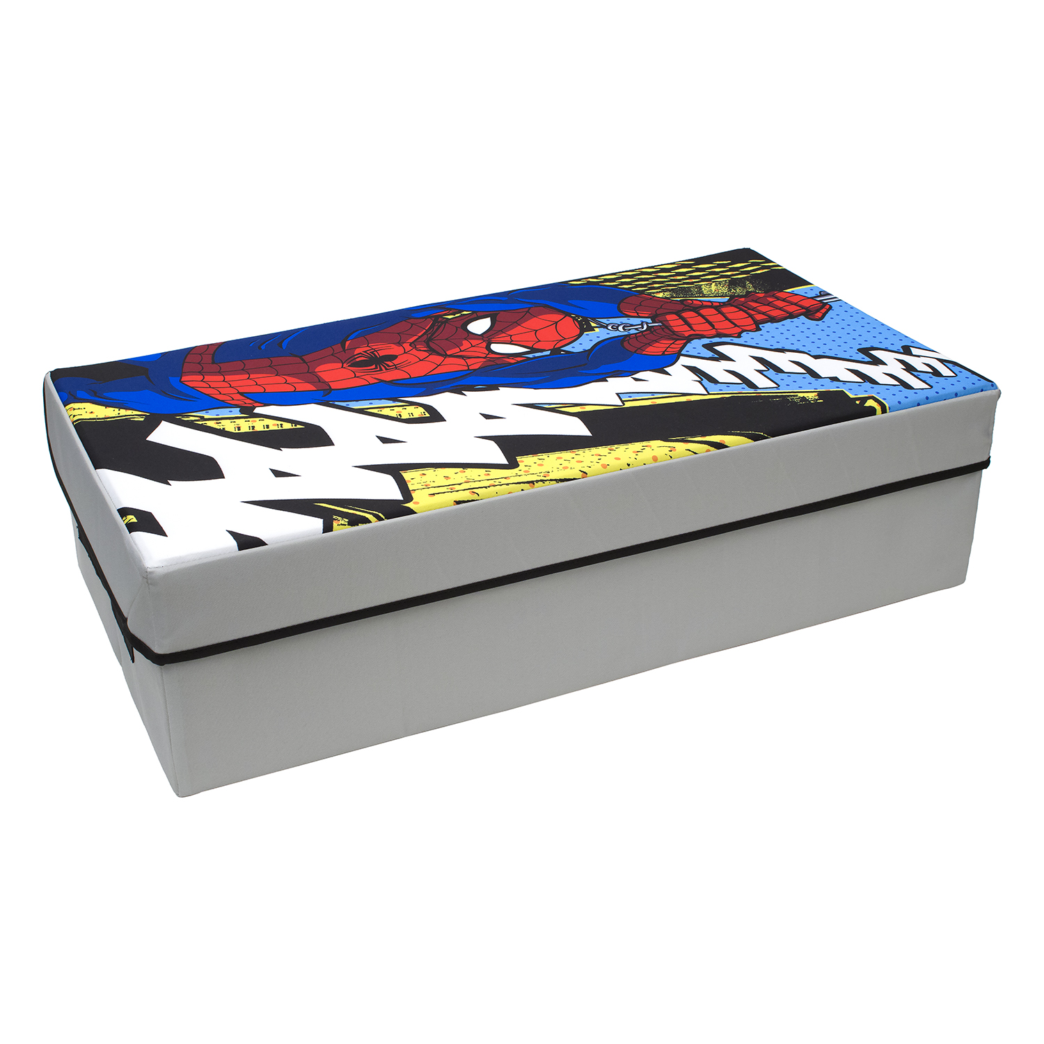 Spiderman Under Bed Storage Slim Collapsible Toy Chest   Marvel   Everything Mary