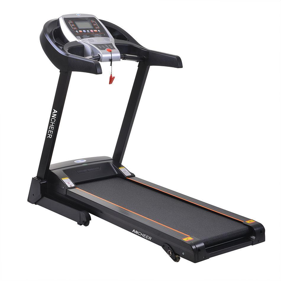 2.25hp Electric Folding Treadmill  Commercial Health Fitness Training Equipment