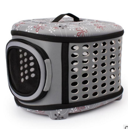 M Size Pet Mesh Cages Travel Tote Shoulder Bag Carrier Sling Dog Cat Puppy Backpack For Hiking Travel Outdoor