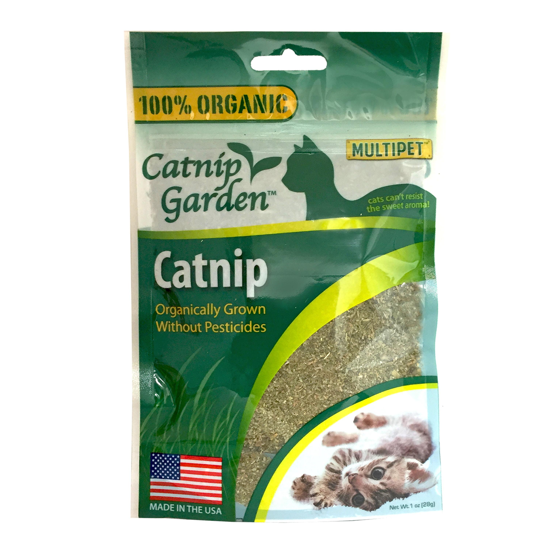 Catnip Garden ORGANIC Catnip 1oz. by Multipet International