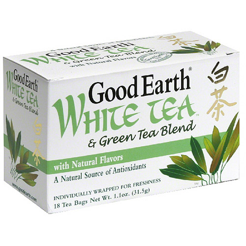 Good Earth White Tea, 18 Count, (pack Of