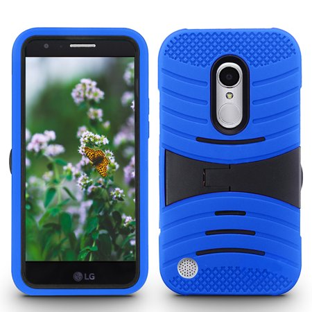 Zizo UCASE Series compatible with LG Aristo Case Hybrid Dual Layer with Built In Kickstand LG Fortune Case