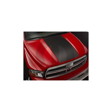 Dodge Stealth Carbon Fiber Hood - Mopar 82211883AB Production Hood Carbon Fiber Decal Dodge Ram 1500