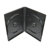 CheckOutStore? 1200 STANDARD Black Double DVD Cases (Machinable Quality)