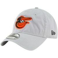 info for 6ff62 92683 Product Image Baltimore Orioles New Era Core Classic Twill 9TWENTY  Adjustable Hat - Gray - OSFA