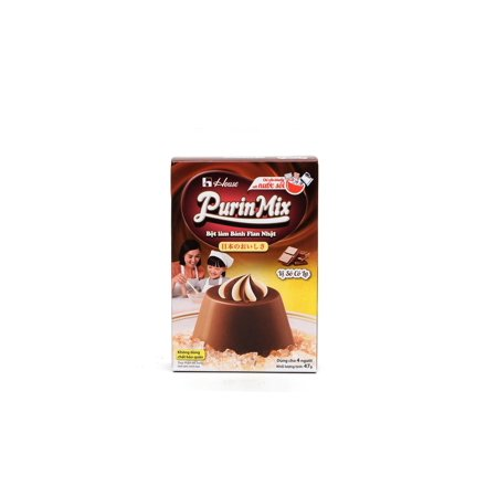 House Purin Mix Chocolate Flavored Japanese Instant Pudding Powder Dessert - Halloween Desserts Chocolate
