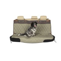 PetSafe Happy Ride Quilted Bench Seat Cover, Durable Vehicle Seat Protector, Green