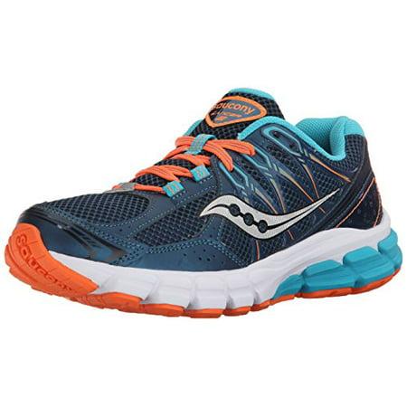 best website a3788 5d8b7 Saucony Womens Lancer 2-w Running Shoe, TealOrange, 5 M US