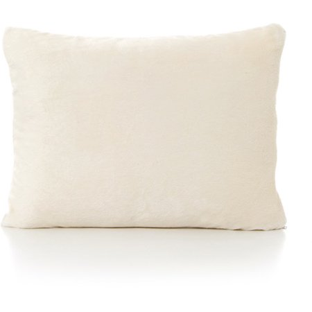 My First Kids Toddler Pillow Premium Memory Foam Toddler Pillow with Pillowcase, Cream, 12