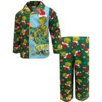 Holiday Coat Style Pajama, 2pc Set (Toddler Boys)