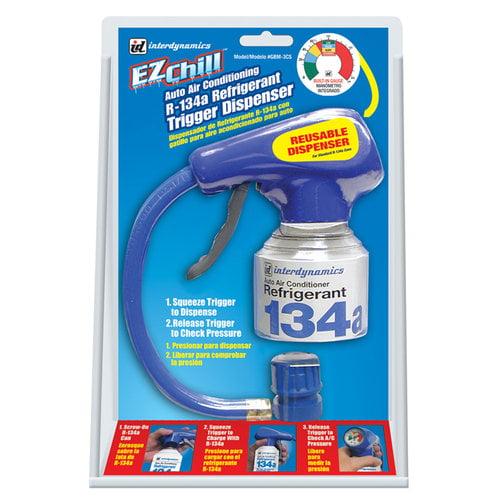 EZ Chill Auto Air Conditioning R-134a Refrigerant Trigger Dispenser