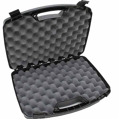 MTM Double Handgun Case, Black