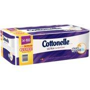 Cottonelle Ultra ComfortCare Double Roll Toilet Paper, Bath Tissue, 30 Rolls