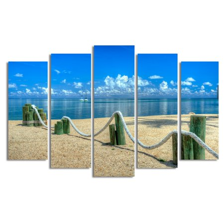Ready2HangArt Rope Canvas Wall Art - 5 pc. Set - Walmart.com