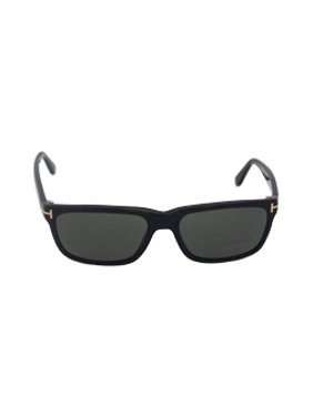 411e86261ba1 Product Image Tom Ford TF 337 Hugh 01N - Black Green Polarized BY Tom Ford  Sunglasses 55