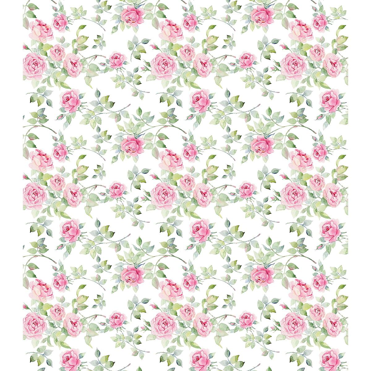 "Craft Consortium Decoupage Papers 13.75""X15.75"" 3/Pkg-Bloom Of Roses"