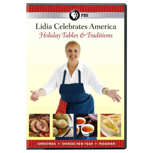 LIDIA CELEBRATES AMERICA:HOLIDAY TABL