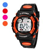 EEEKit Kids Sport Watches, Multi-Function 30M Waterproof Watch LED Digital Double Action Watch Electronic Watches Kids Boy Girl Gift
