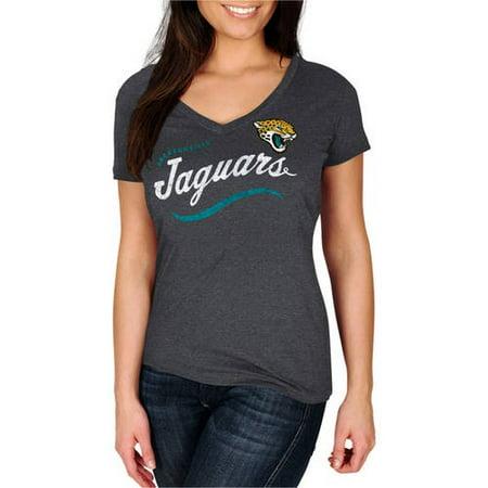 NFL Jacksonville Jaguars Womens V-Neck Tee by