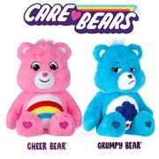 """Cheer & Grumpy Bear Combo - 14"""" Plush Care Bears"""