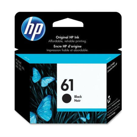 HP 61 Black Original Ink Cartridge (CH561WN) - Walmart.com