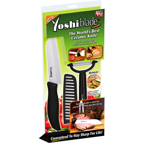 As Seen On Tv Yoshi Blade Ceramic Knife Walmart Com