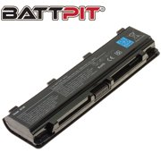 BattPit: Laptop Battery Replacement for Toshiba PA5109U-1BRS, PA5108U-1BRS, PA5110U-1BRS, PABAS271, PABAS272, PABAS273 (10.8V 4400mAh 48Wh)