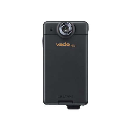 Creative Labs Vado HD 720p Pocket Video Camcorder with 8 GB Video Storage and 2x Digital Zoom Black OLD MODEL