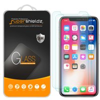 Product Image [2-Pack] Supershieldz Apple iPhone X Tempered Glass Screen Protector, Anti-
