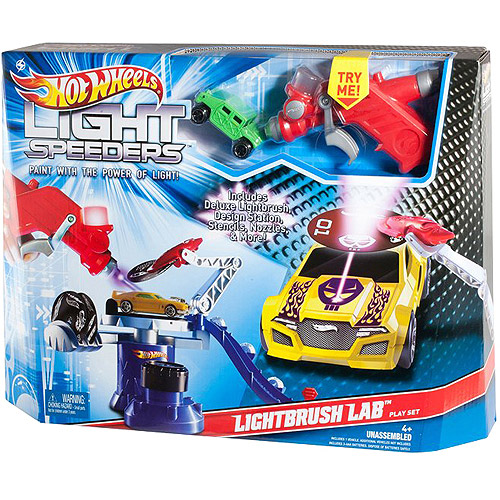Hot Wheels Lightbrush Lab Play Set