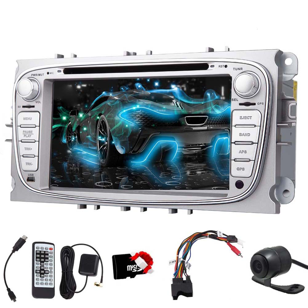 EinCar Wince 7 inch Double Din Car Stereo for Ford Focus ...