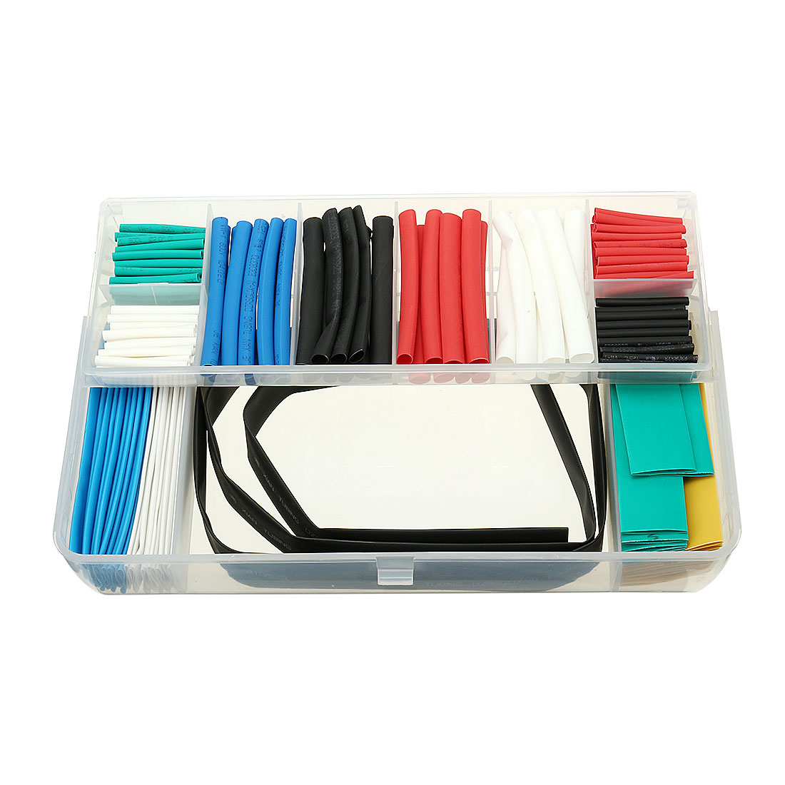 171Pcs 2:1 Heat Shrink Tubing Tube Sleeving Wire Cable 10 Sizes 6 Color
