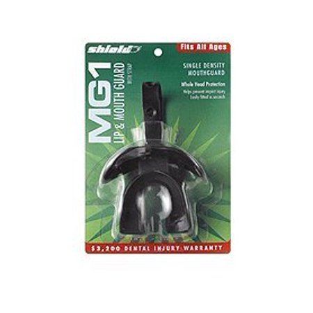 Shield Lip and Mouth Strapped Mouth Guard (Shield Chin Guard)