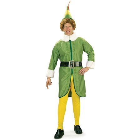 Buddy Elf Men's Adult Halloween Costume, XL ()