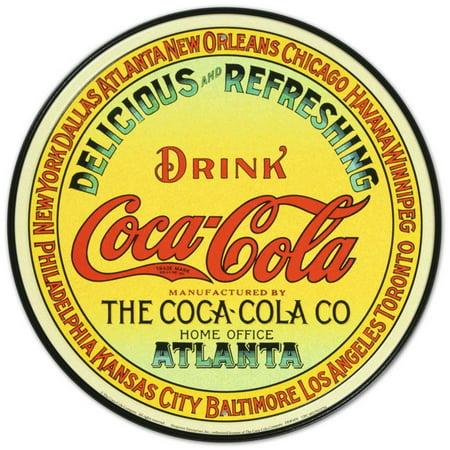 Coca-Cola Tin Sign - 12x12