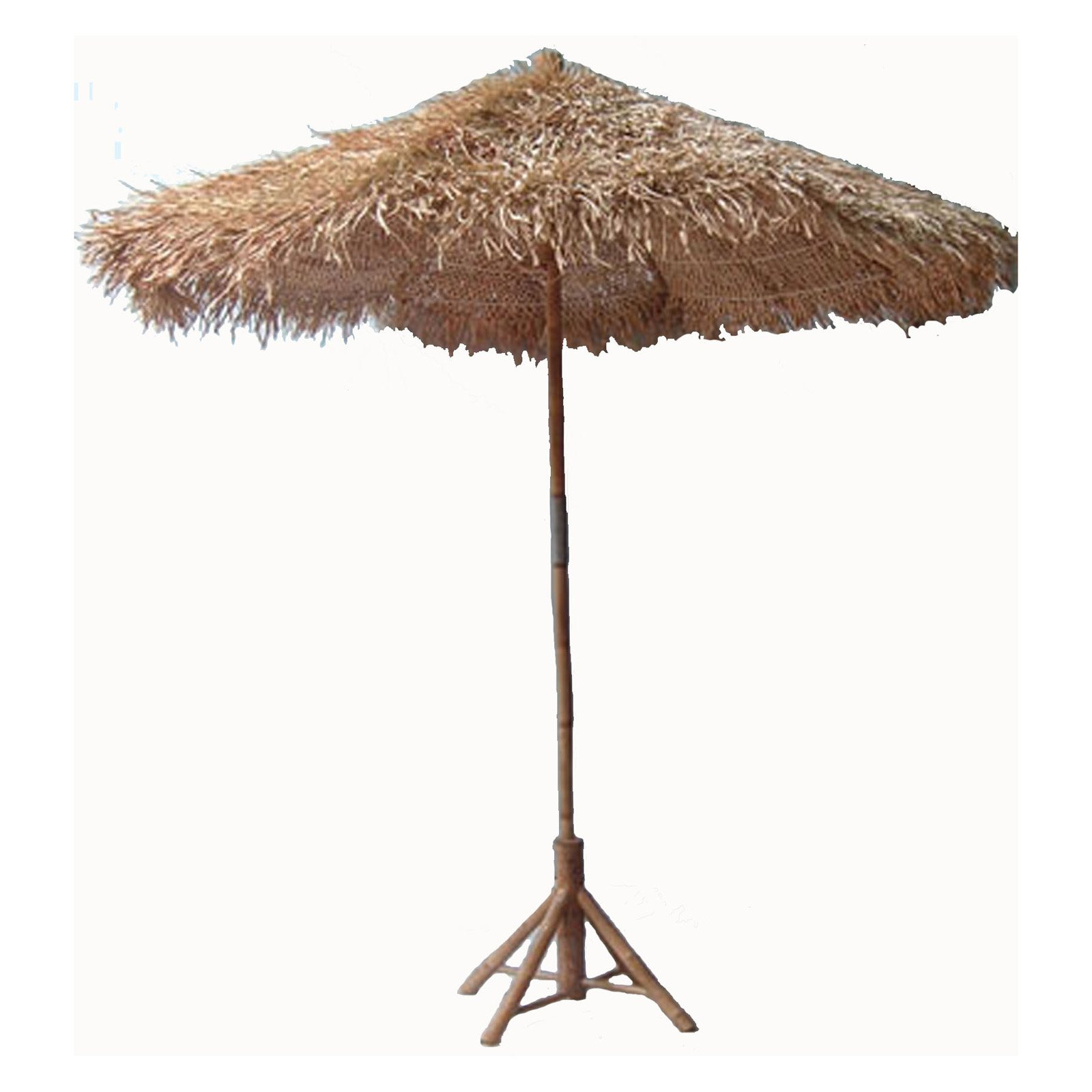 Bamboo54 Thatch Patio Umbrella