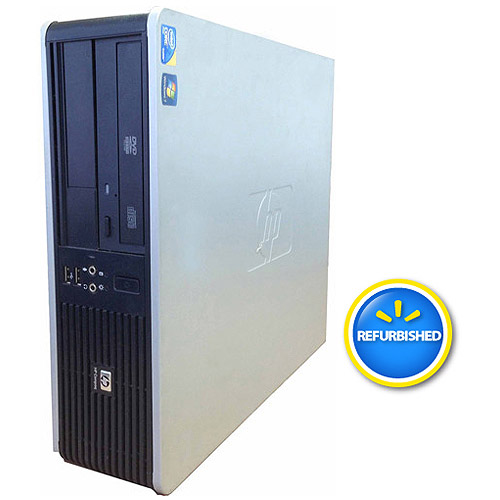 HP Refurbished Compaq DC7900 Desktop PC with Intel Core 2 Duo 8400 Processor, 4GB Memory, 1TB Hard Drive and Windows 7 Professional (Monitor Not Included)
