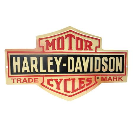 Harley Davidson Bar And Shield >> Harley Davidson Bar And Shield Metal Sign