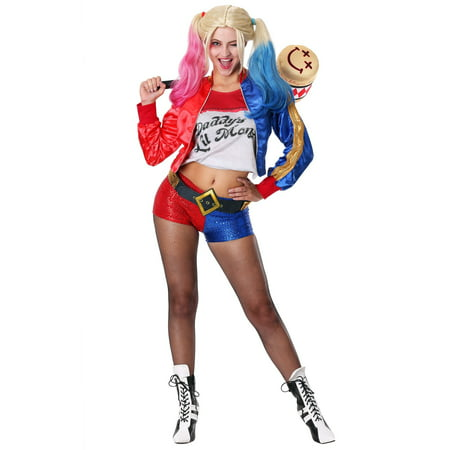 Deluxe Suicide Squad Harley Quinn Costume](Harley Quinn Costume For Adults)