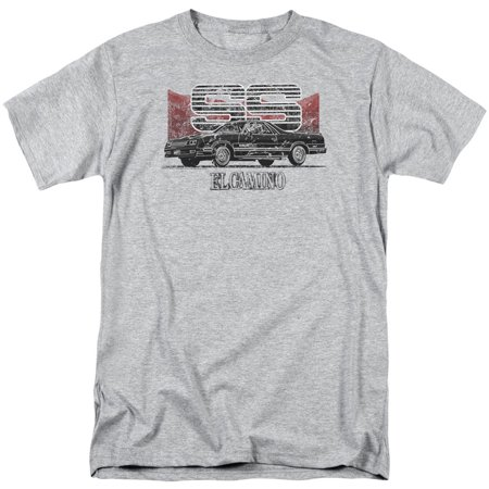 - Chevy Men's  El Camino Ss Mountains T-shirt Athletic Heather
