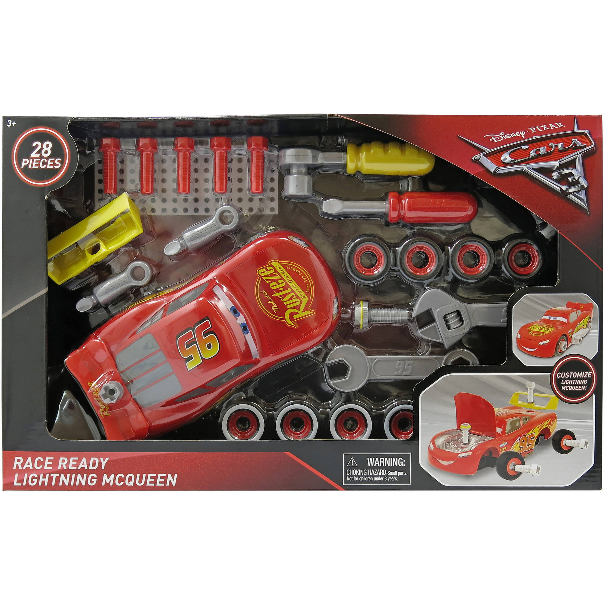 Cars 3 Race Ready Lightning McQueen